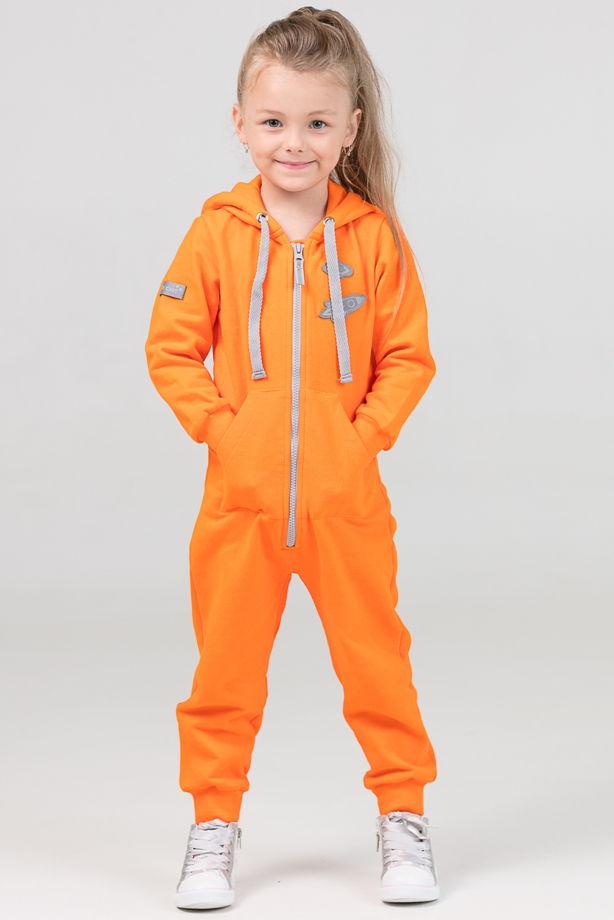 """Детский комбинезон """"Ready"""" оранжевый"""