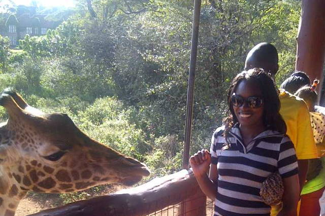 Visit animal orphanage, and kiss a Giraffe at Giraffe center, buy beaded timeless products