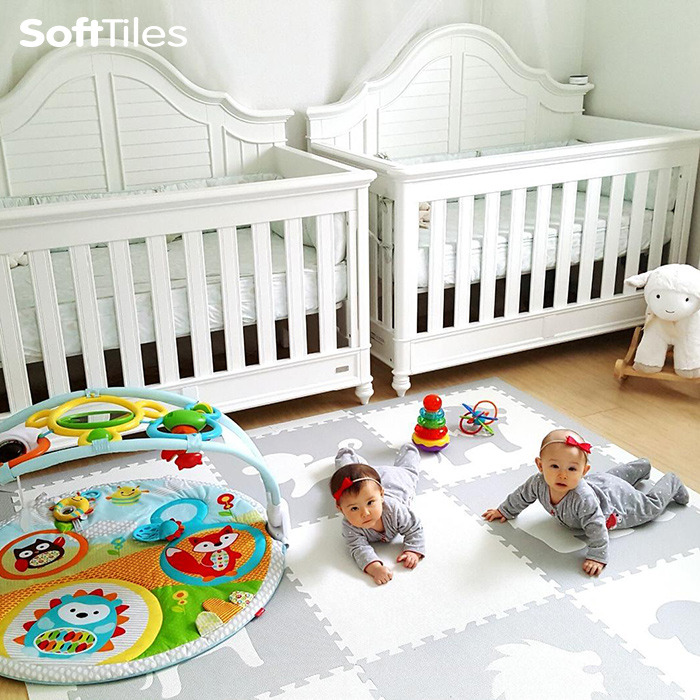 SoftTiles Foam Baby Play Mats