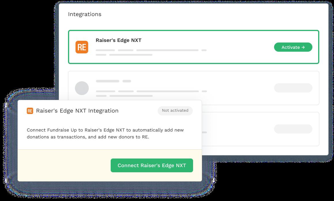 Raiser's Edge NXT Integration