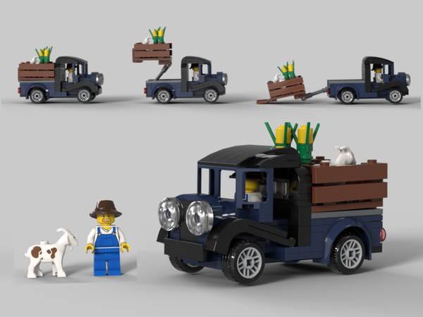 lego Farmers Goat Truck