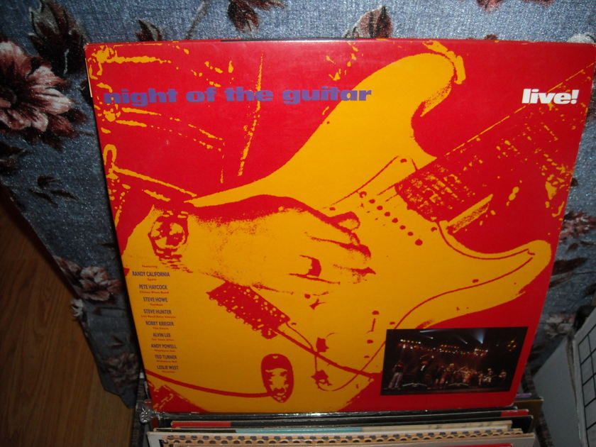 Night Of The Guitar -  Live In Europe 1988 I.R.S. 2 LP Set (c)