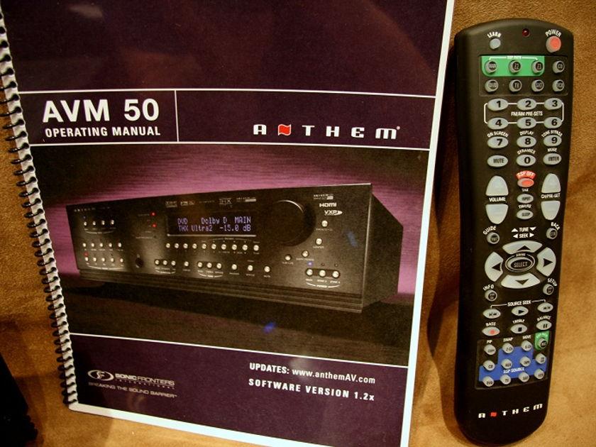Anthem  AVM 50 Pre/Pro