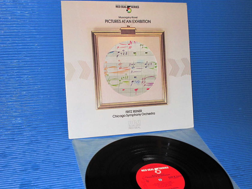 "MOUSSORGSKY / Reiner   - ""Pictures At An Exhibition"" -  RCA .5 Audiophile 1983"