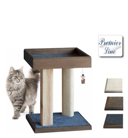 ActiveACat Plateau model intergrooved wood scratching post