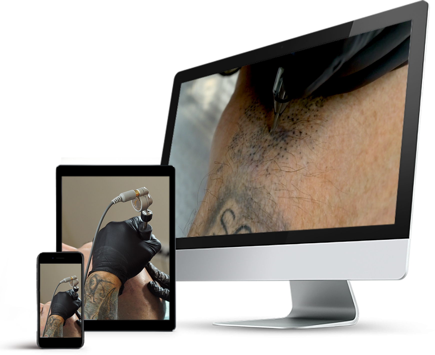 permanent makeup scalp micro pigmentation online training