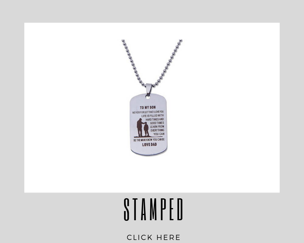 Custom Stamped Corporate Dog Tags