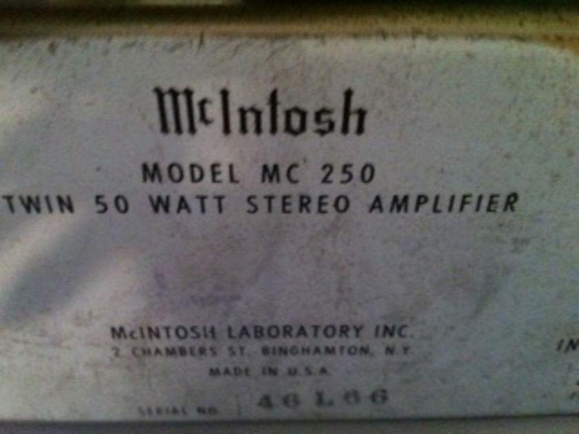 McIntosh MC 250