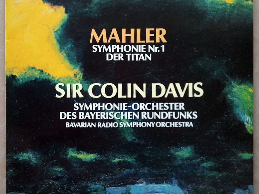 "Novalis/Colin Davis/Mahler - Symphony No.1 ""The Titan"" / NM"