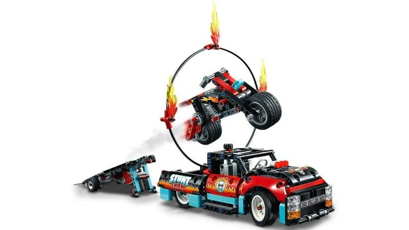 lego 42109 ring fire jump
