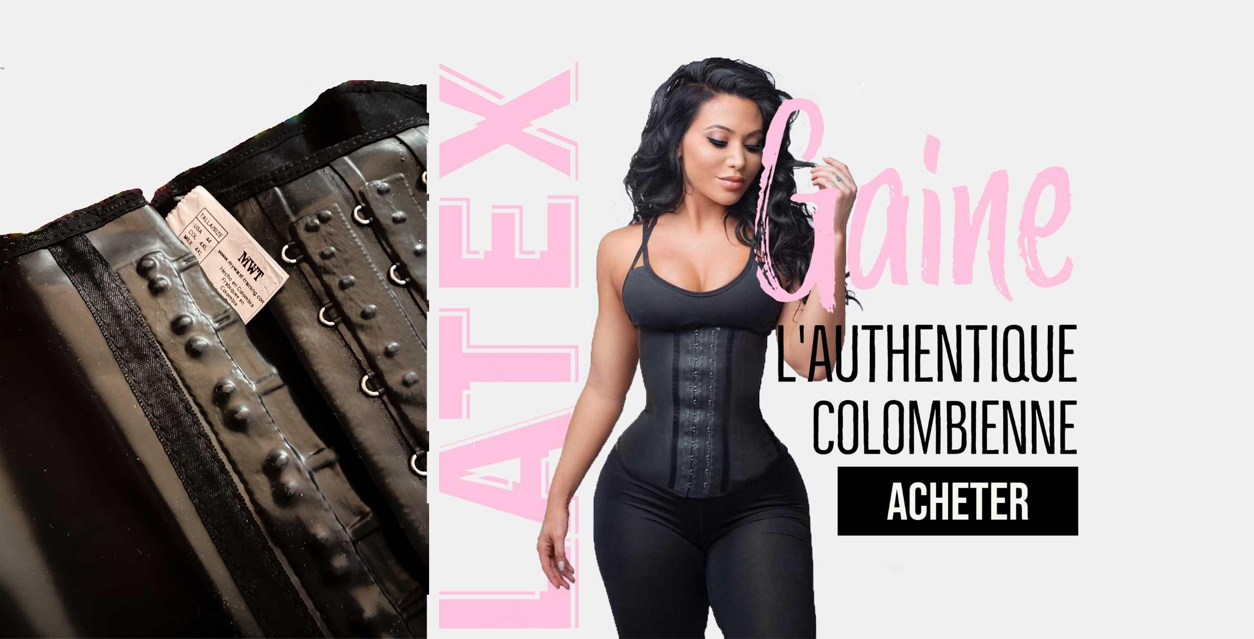 gaine corset mwt all latex