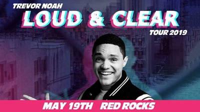 Trevor Noah Live at Red Rocks