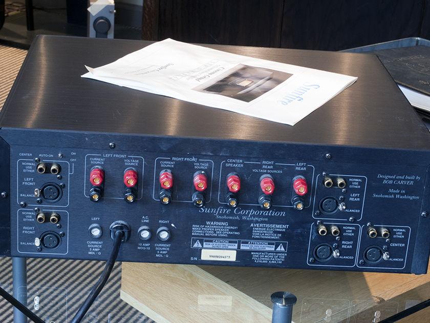 Sunfire Cinema Grand Power Amplifier; 200w x 5