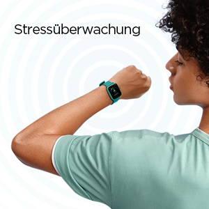 Amazfit Bip U - Überwachung des Stressniveaus