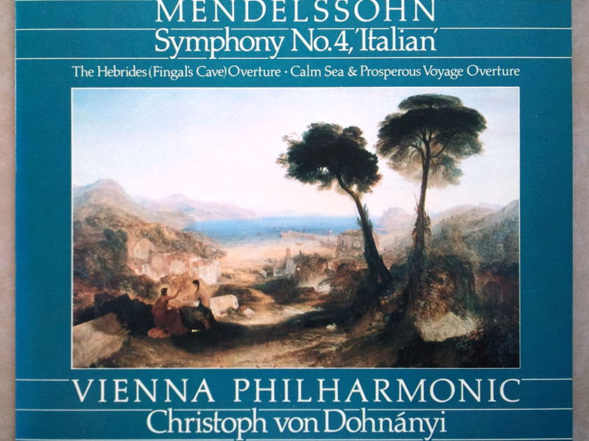 London Digital/Dohnanyi/Mendelssohn - Symphony No. 4 Italian, Overtures / NM