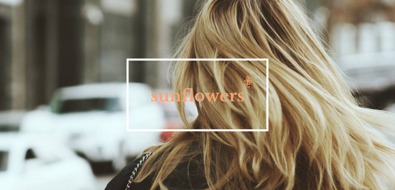 accessoire cheveux sunflowers