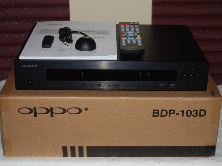 OPPO BDP-103D NICE!