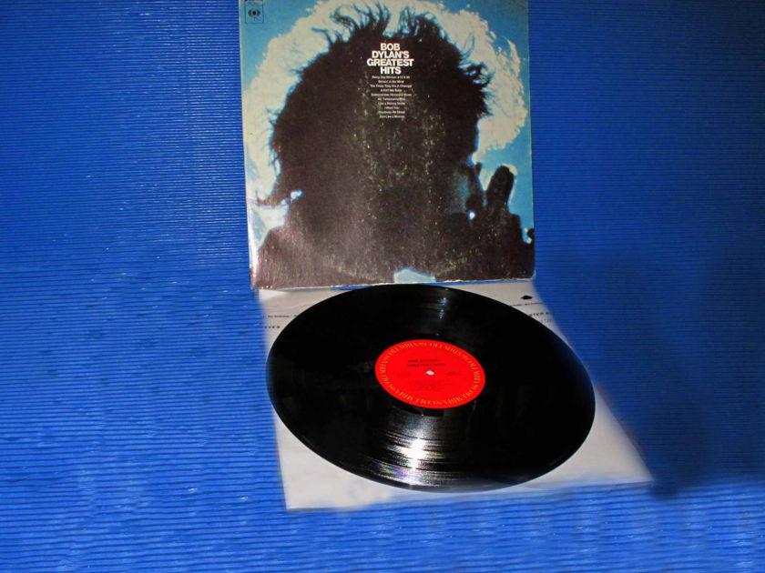 "BOB DYLAN - - ""Bob Dylan's Greatest Hits"" - CBS 1970 w/original poster"