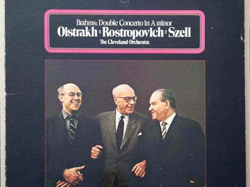 Angel/Oistrakh/Rostropovich/Szell/Brahms - Double Concerto / NM