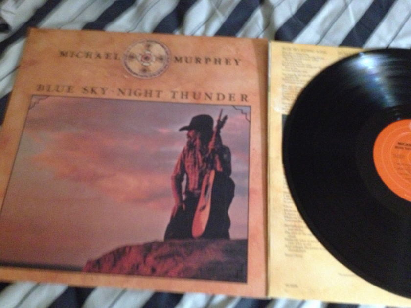 Michael Murphey - Blue Sky Night Thunder LP NM