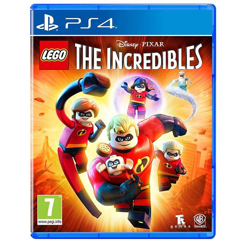 The LEGO Disney Pixar's The Incredibles ps 4