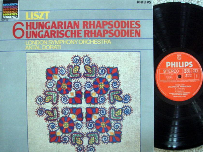 Philips / DORATI, - Liszt 6 Hungarian Rhapsodies, MINT!