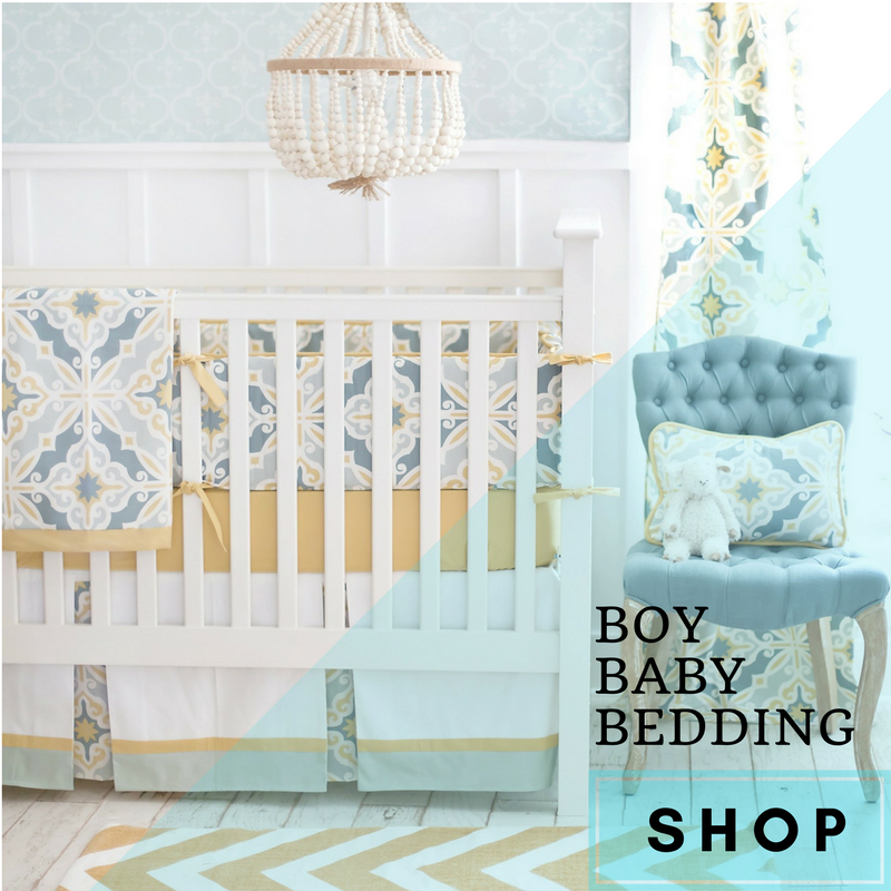 Boy Baby Bedding Crib Sets