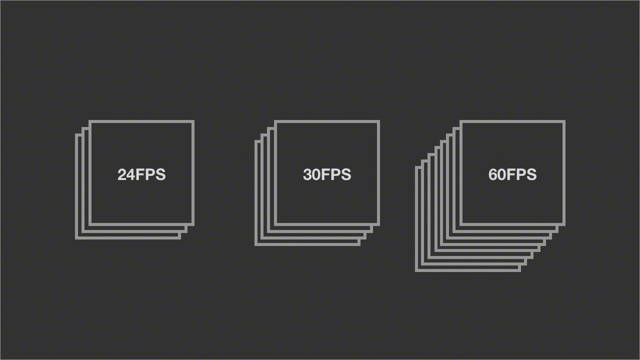 different frame rate standards