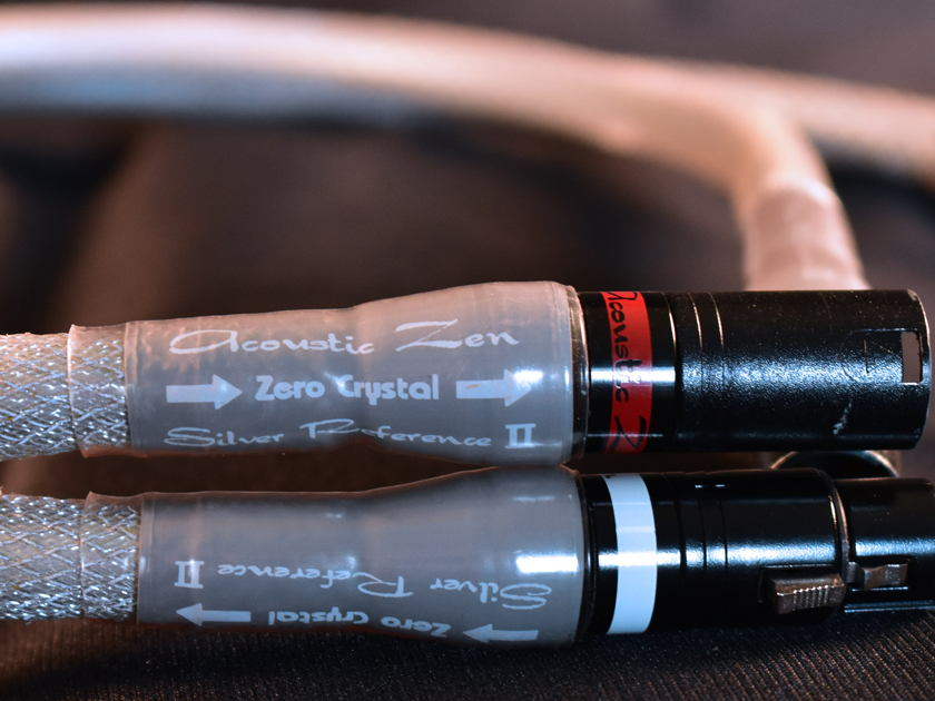 Acoustic Zen Silver Reference II XLR 1 meter