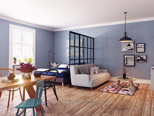7 clevere Ideen für die Raumaufteilung im Wohnzimmer