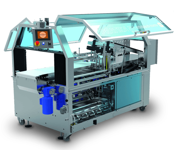 Minipack torre practica stainless steall packaging machine