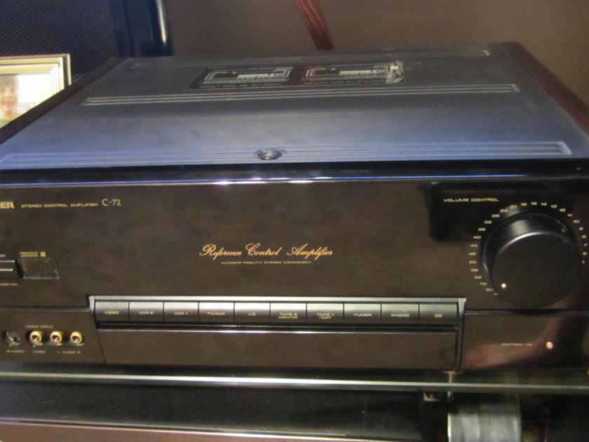 Pioneer Elite C-72  Reference C-72 Pre-Amplifier!
