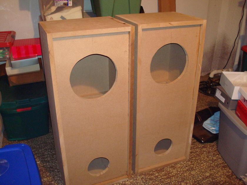 "AUDIO NIRVANA 12"" FULL RANGE SPEAKERS"