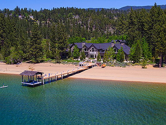"Sintra - Engel & Völkers Lake Tahoe has just brokered the Sierra Sunset ranch for 38 million US dollars. The iconic opening credits to the television series ""Bonanza"" were filmed on its land. (Image source: Engel & Völkers Lake Tahoe)"