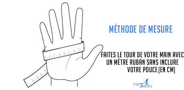 methode mesure gants mitaines