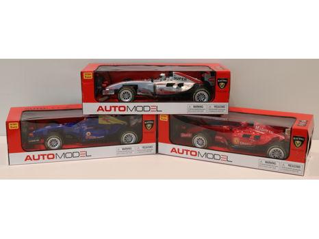 Set of 3 AutoModel Race Cars