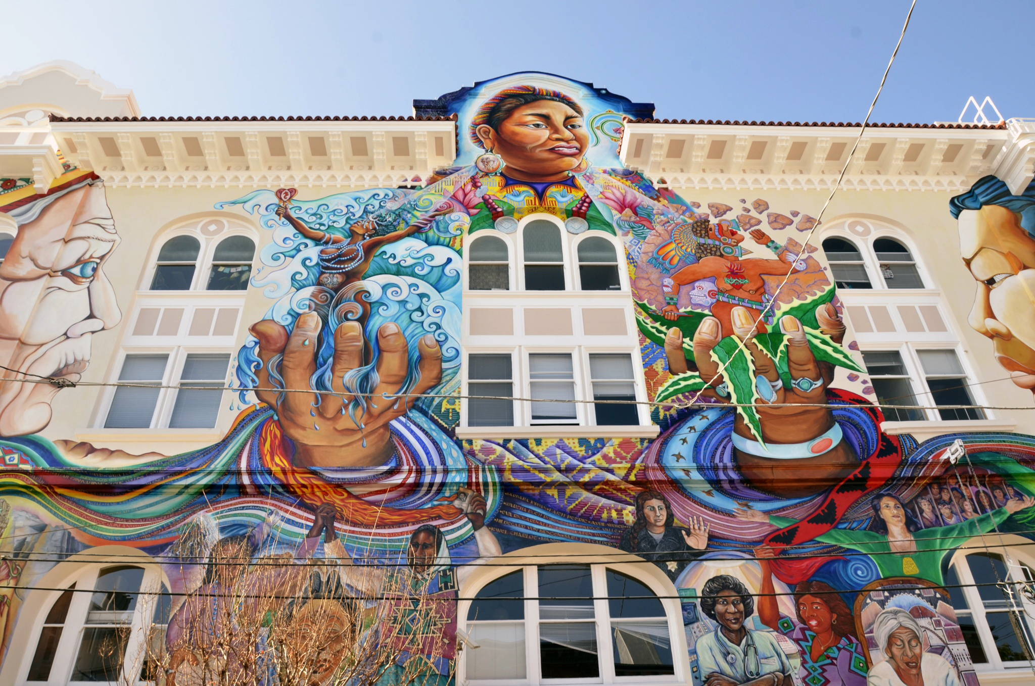 Maestra Peace mural protected by muralshield and worlds best graffiti coating