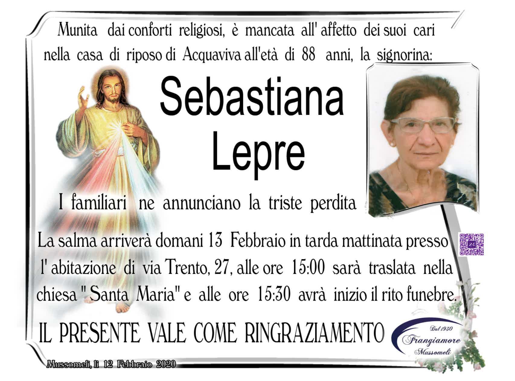 Sebastiana Lepre