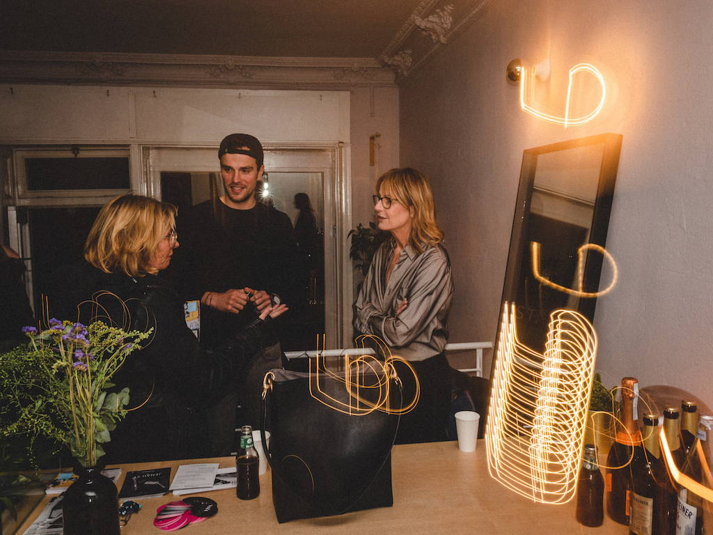 Blackbook experience celebrating fair and sustainable fashion at Jenah St. 's popup store in Berlin