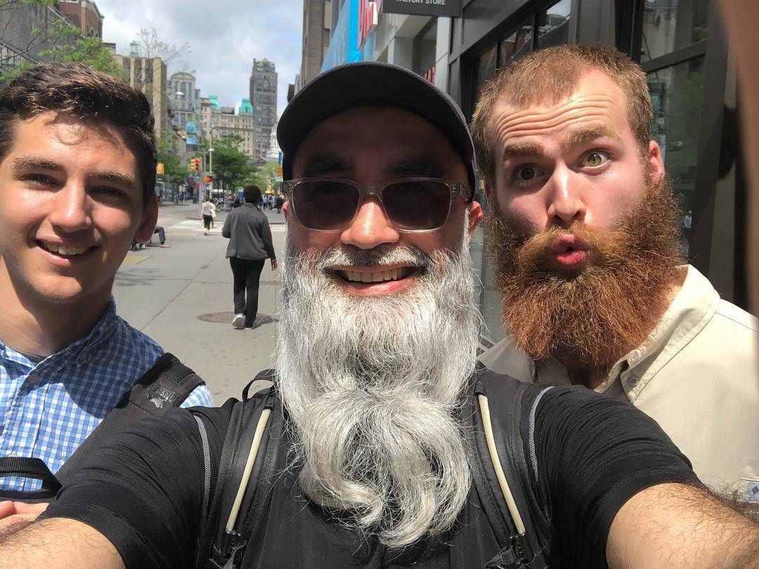 #Follow_my_beard Ronald Rentas Guest Speaker for Junior Baby Hatter's Father's Day Pop Up