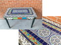 8th Grade: Medallions and Tiles on Table
