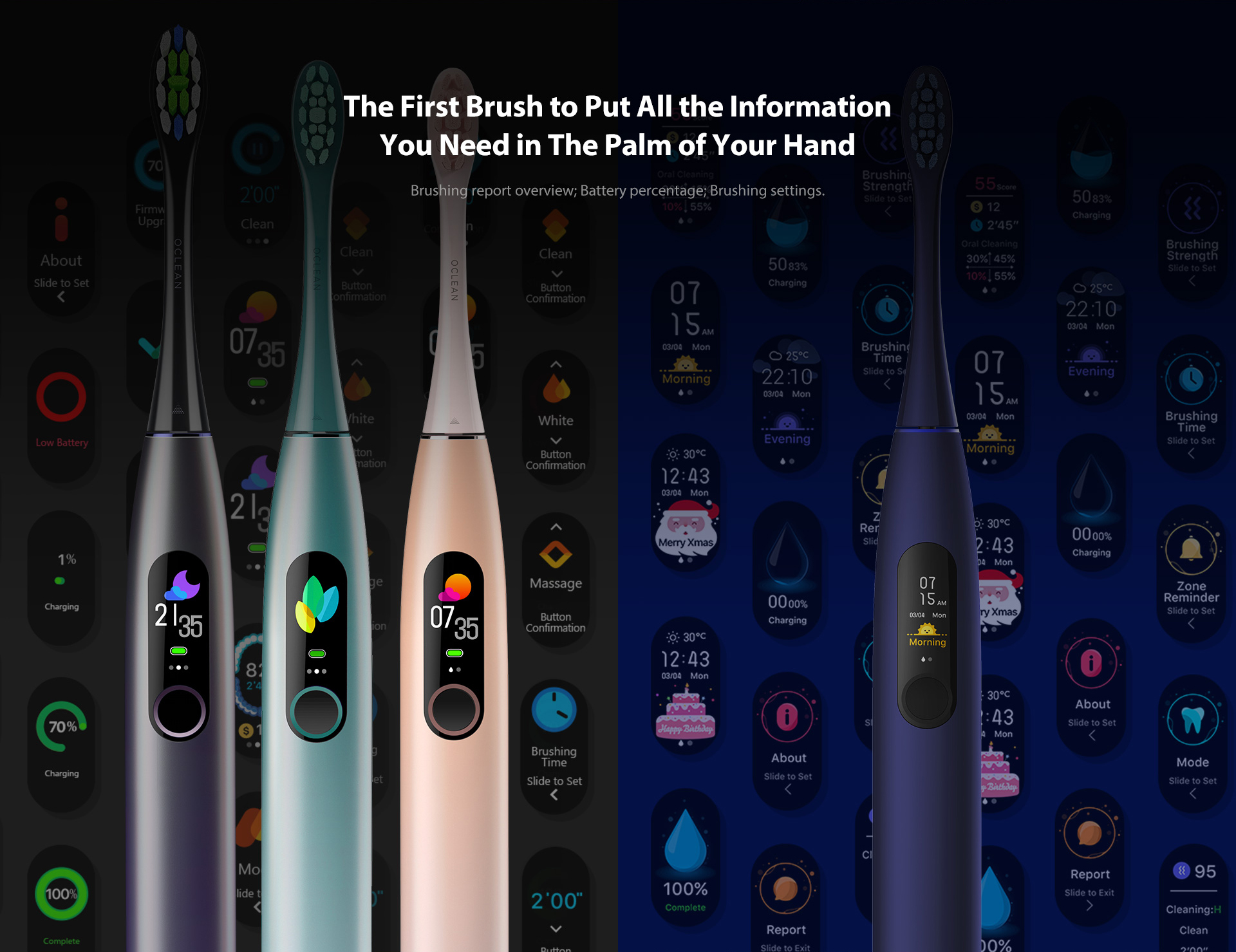 the first brush to put all the information you need in the palm of your hand
