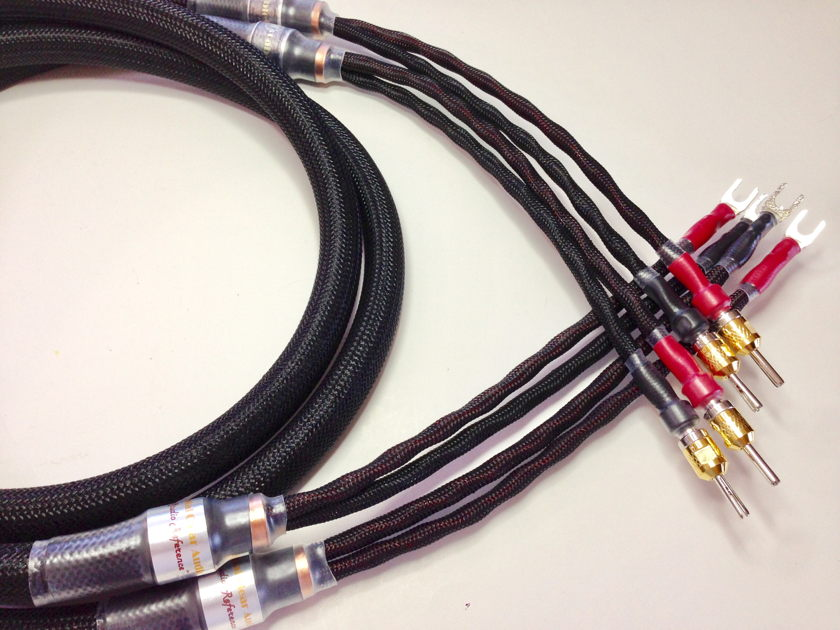 Crystal Clear Audio STUDIO REFERENCE Speaker Cables 2M