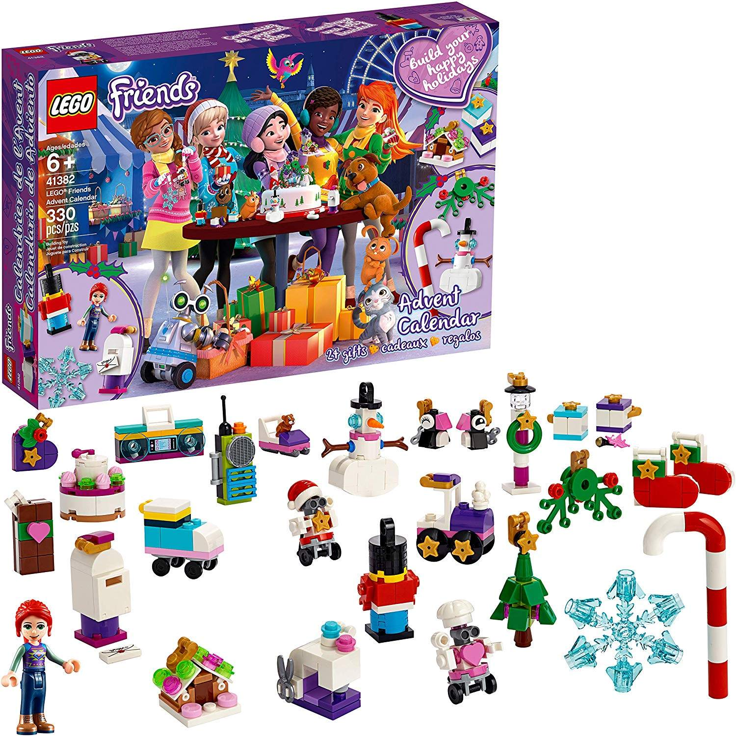 LEGO Friends Advent Calendar 41382 Building Kit (330 Pieces)