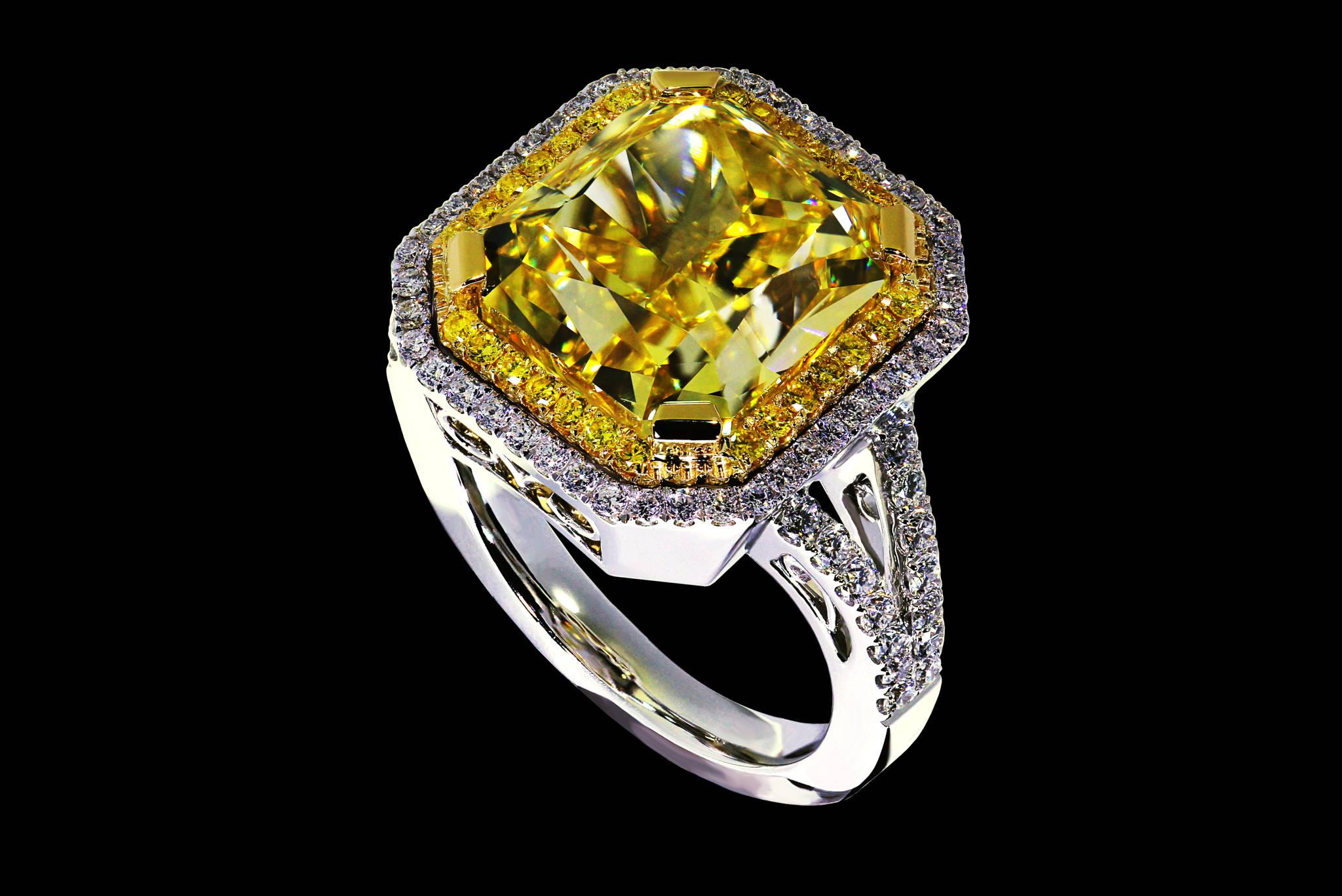 Helios`s diamond ring