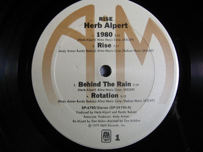 Herb Alpert - Rise - 1979  A&M Records SP-3714