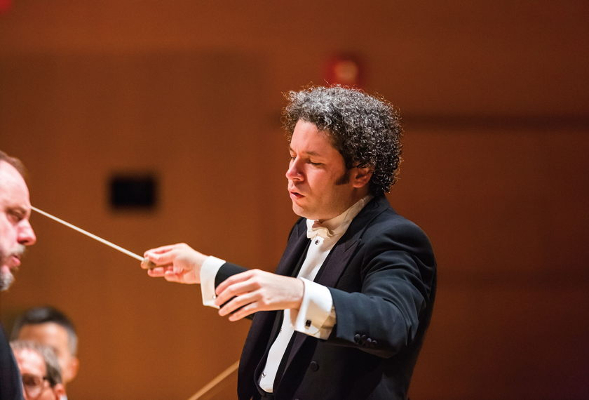 Dudamel Conducts Rachmaninoff & Stravinsky artwork