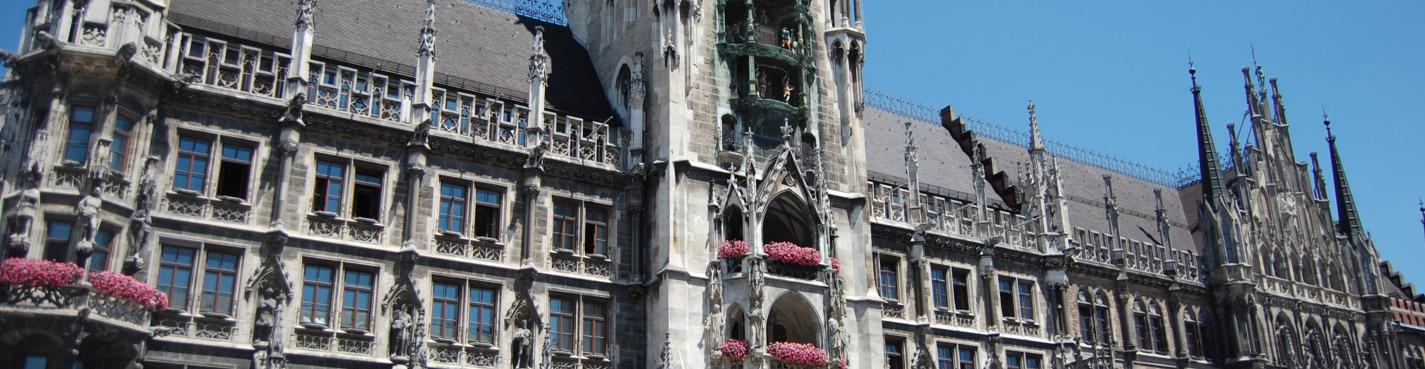 Мюнхен: город и люди -- пешком по старому городу