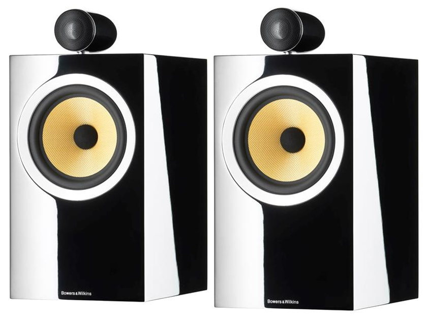 B&W (Bowers & Wilkins) CM6 S2 -Gloss Black (Pair)  **Factory Sealed**