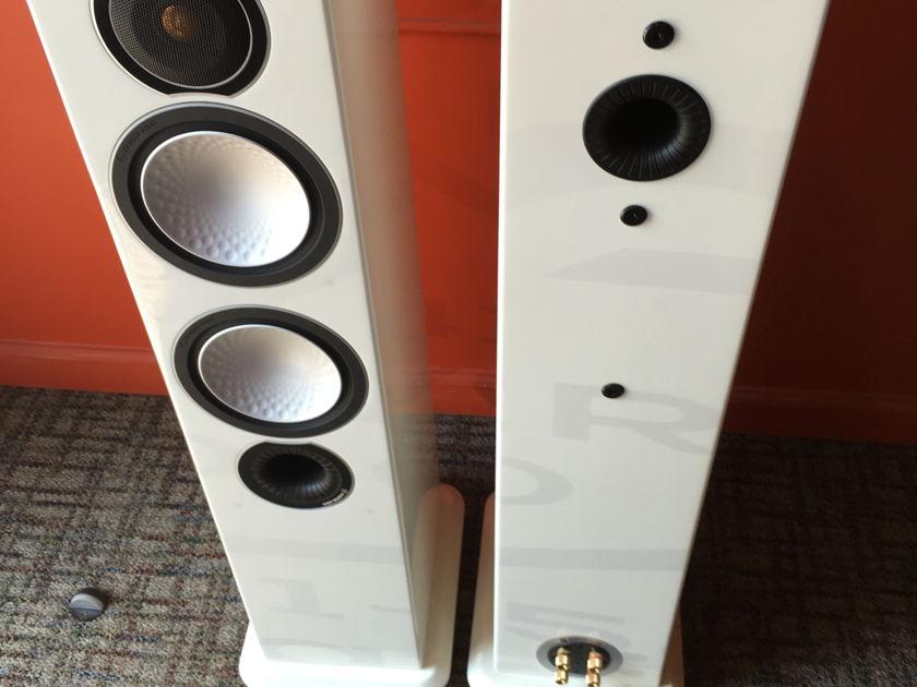 Monitor Audio  Silver 6 Piano White Finish